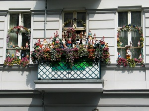 transforming the home to match the inhabitant, Prenzlauer Berg, Berlin 2005