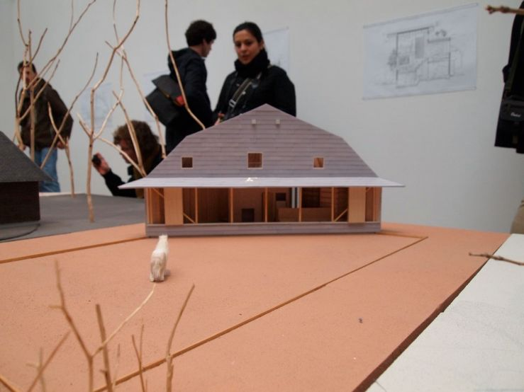 Model of the Pony Garden by Atelier Bow-wow