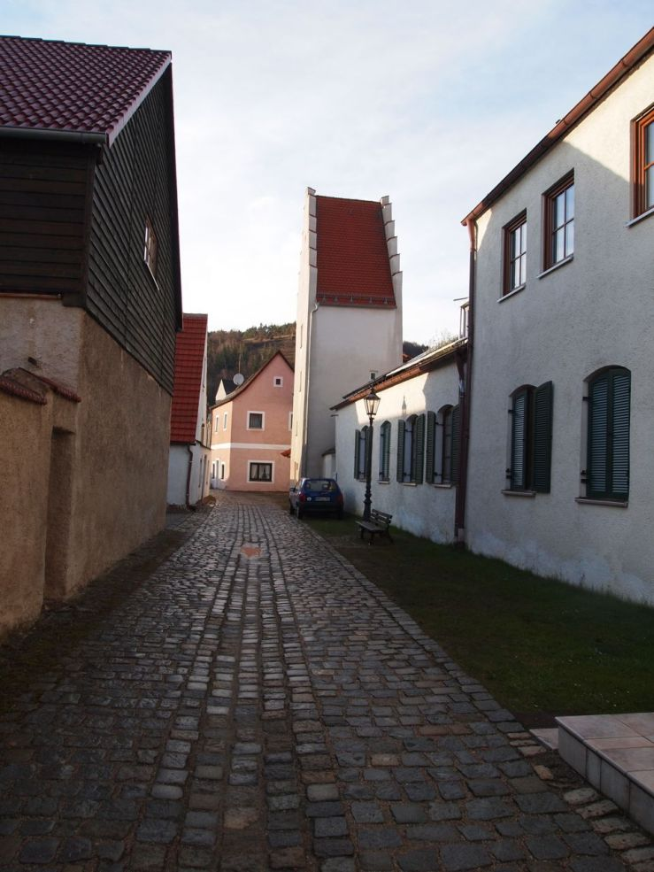 former city wall