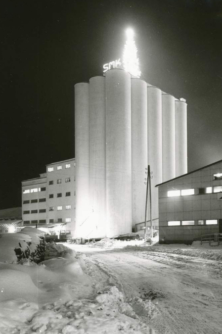 The original mill back in 1948 - photo courtesy of Järvenpää-seura archive