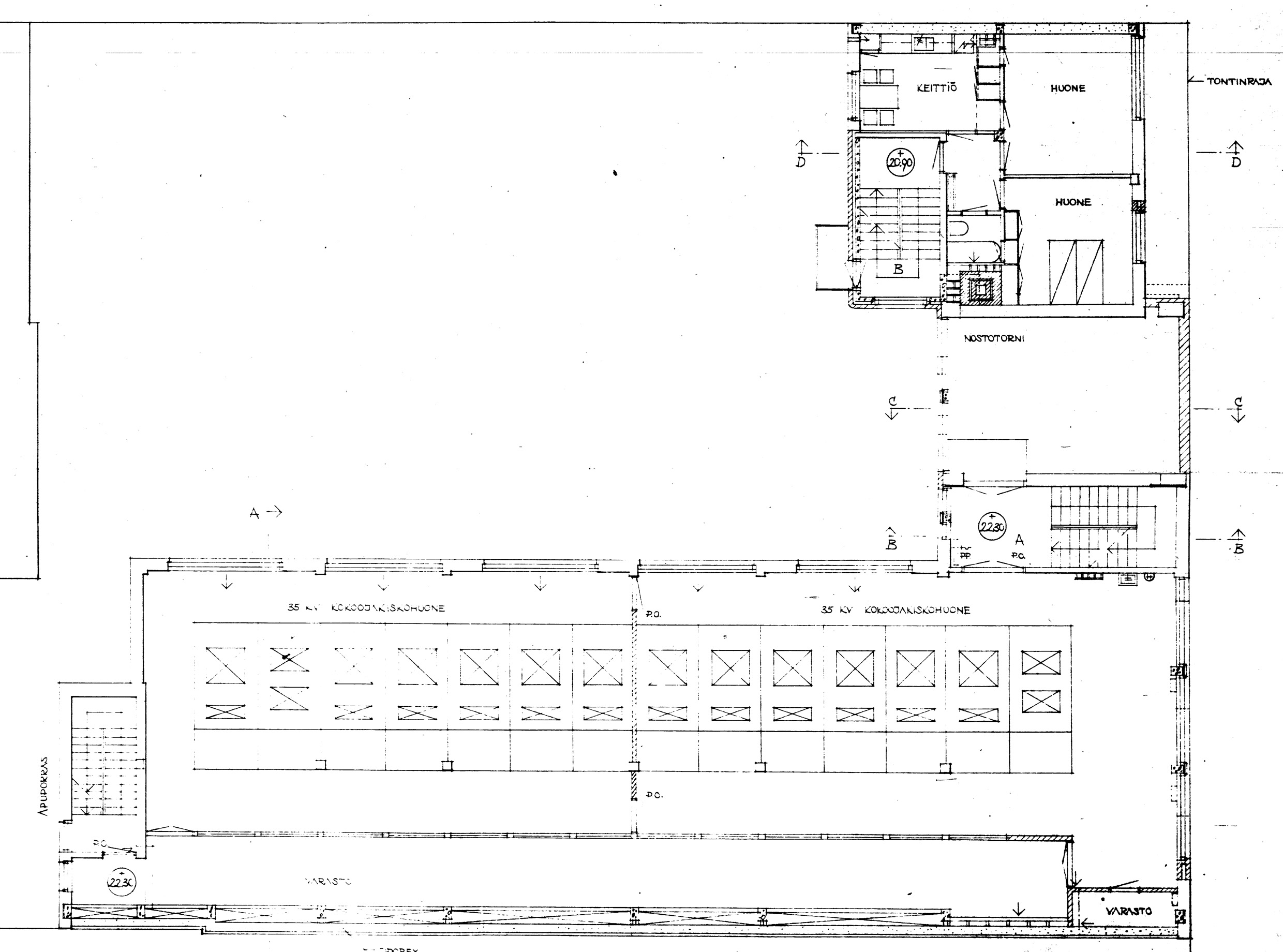 Sanna Merilinen Page 4 Strange Home Atlas Substation Rooms Layout Diagram 4th Floor Plan With And Apartment Wing