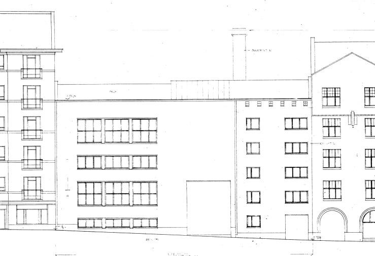 Mariankatu 22, street facade