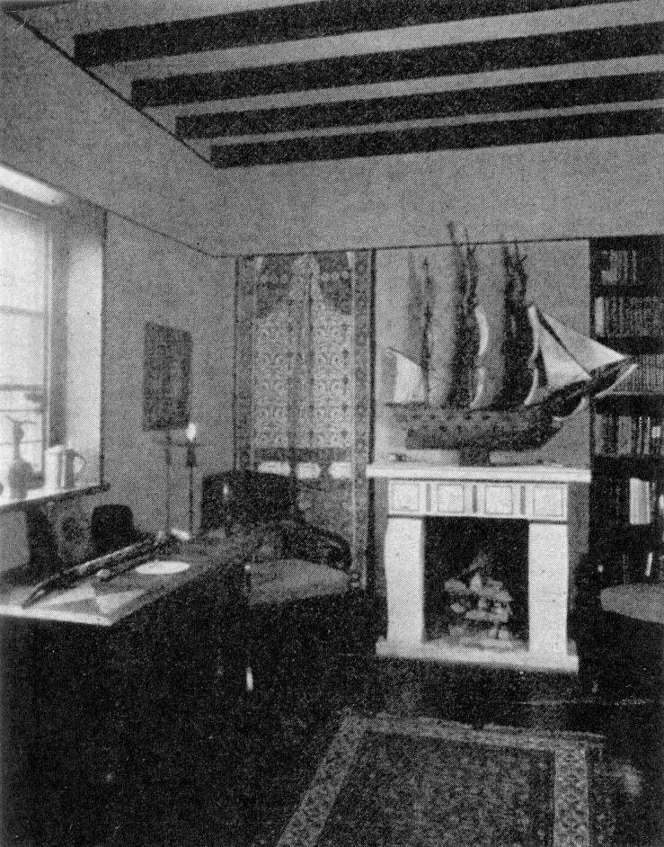 """""""Herrainhuone"""" from Linnankatu 33, 1929"""