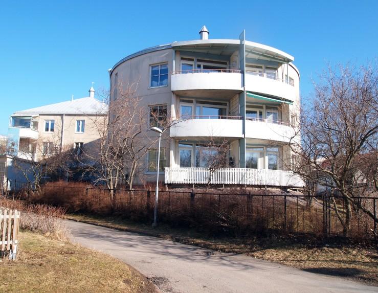 Herukkakuja 2, Pikku-Huopalahti 1992, architect Eero Pettersson, Finnmap Oy, Imatra