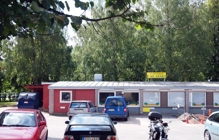 Iso-Heikkilä suburb, Kanslerintie (Aarne Ehojoki & Veijo Kahra 1953-57)