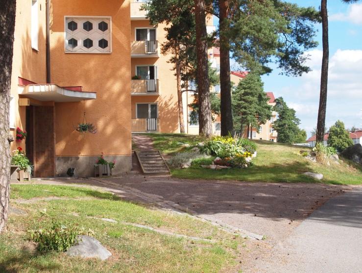 """""""Tähtitalot"""", Toivolankatu 13-29 (Viljo Laitsalmi & Annikki Harlas, Turun kaupungin talonrakennusosasto 1949-51)"""