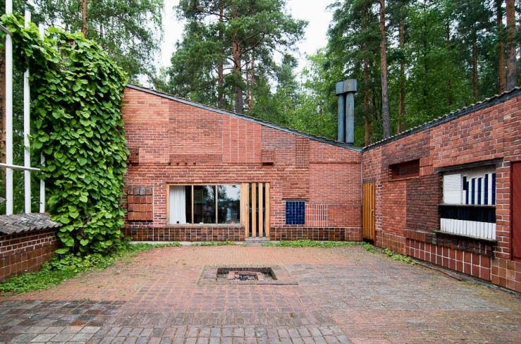 Muuratsalo Experimental House, Alvar Aalto 1952-53, photo © Moritz Bernoully