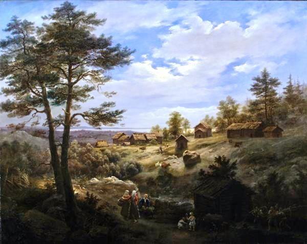 Finnish Landscape, Cosroe Dusi (1808-1859)