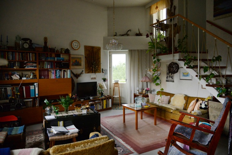 an ordinary home in Helsinki from the 1950's. copyright Hanna Meriläinen